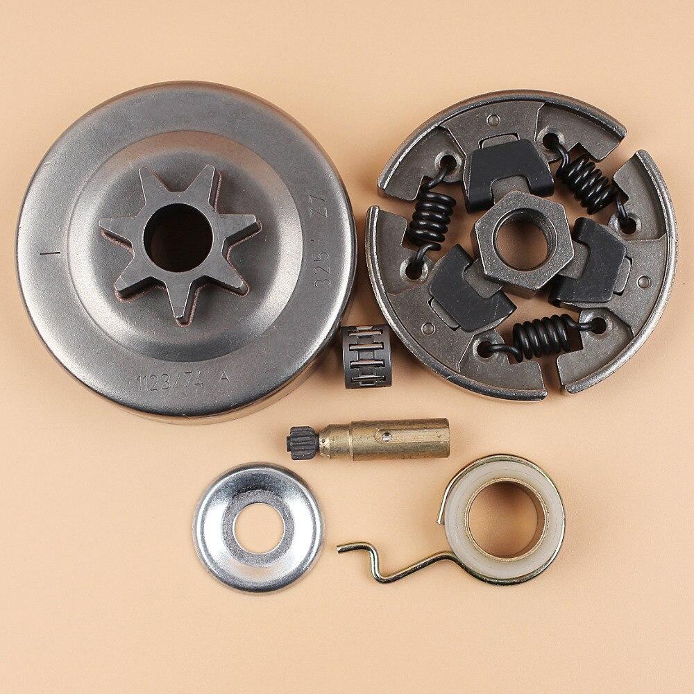 Ersatzteile Kupplungstrommel-Kettenrad Montage Kettensäge Kit Satz Werkzeug