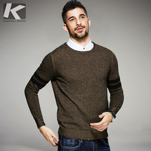 2017 Spring Mens Casual Sweaters 100% Cotton Striped Knitted Brand Clothing Man's Slim Knitwear Pullovers Male Knitting Clothes