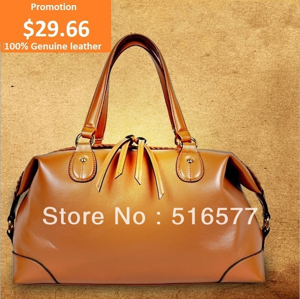 2013 New Arrival Fashion Genuine Leather Designer Brand Satchel Bags for Women High Quality Tote Purse Handbags Free Shipping