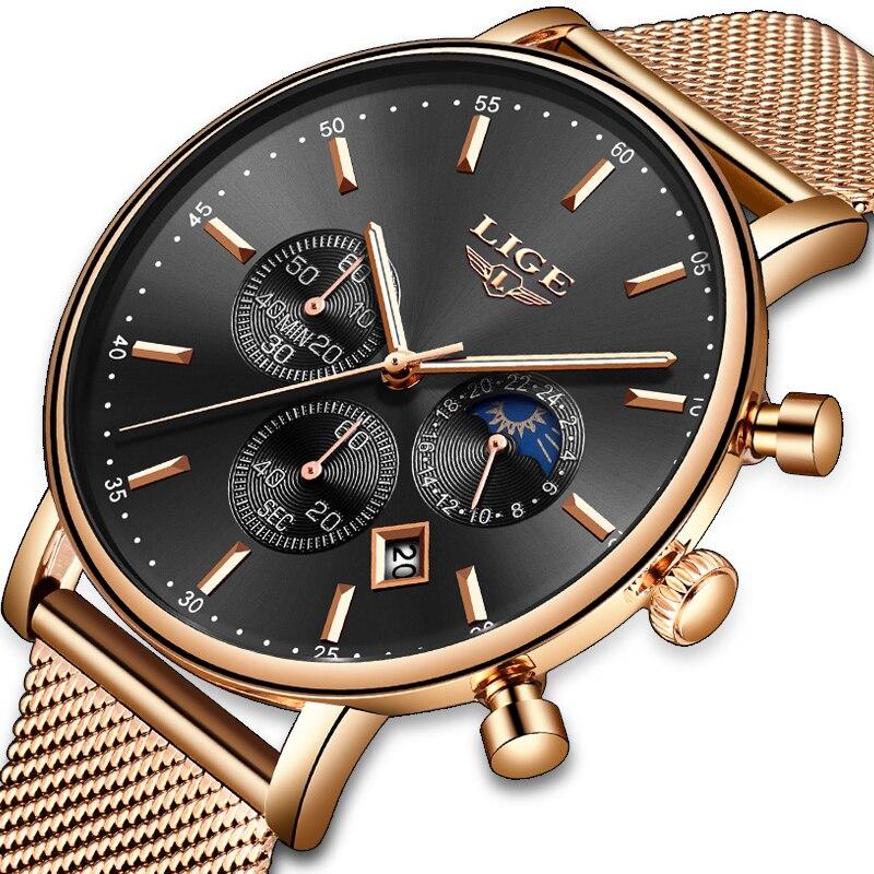 75f53666c893 Nuevo en este momento Mens Casual de deporte de moda reloj de cuarzo relojes  para hombre superior de la marca de lujo de negocio Simple impermeable reloj  ...