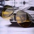 Aoron День Ночного видения очки очки мужские Поляризованных Солнцезащитных Очков Для Вождения Автомобиля Спорт Рыбалка Мужчины Оригинальные Известные Солнцезащитные Очки