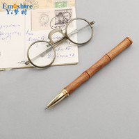 Mahogany Signature Pen Creative Commemorative Gifts Office Ballpoint Pen Business Gifts Roller Ball Pen Custom Logo
