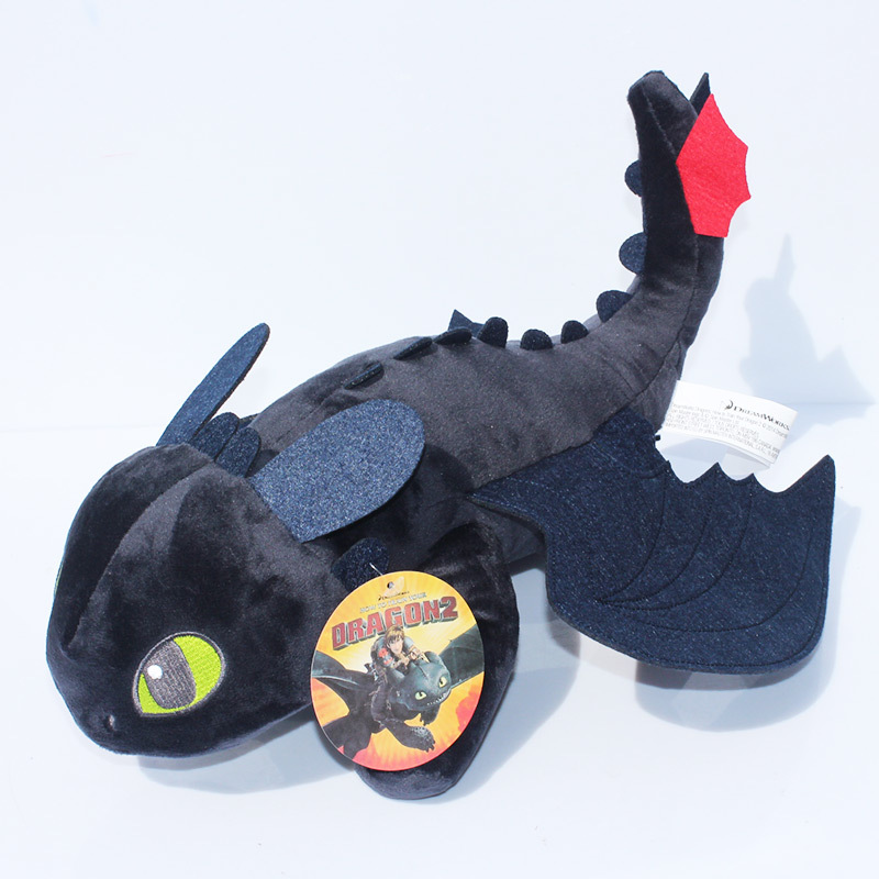 923cm How To Train Your Dragon Toothless Plush Night Fury Stuffed Soft Dolls