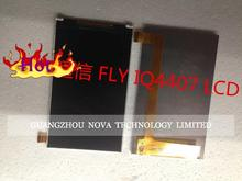 For FLY IQ4407 LCD Display Screen ( Not Touch screen Digitizer Sensor ) + 3M Sticker ; free tracking