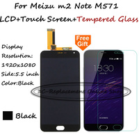 Black LCD TP For Meizu Note M2 M571 Meilan Note 2 LCD Display With Touch Screen