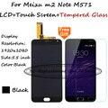 Lcd + tp + regalo para meizu m2 note m571h m571m m571c/meilan nota 2 pantalla lcd con digitalizador de pantalla táctil sustitución smartphone