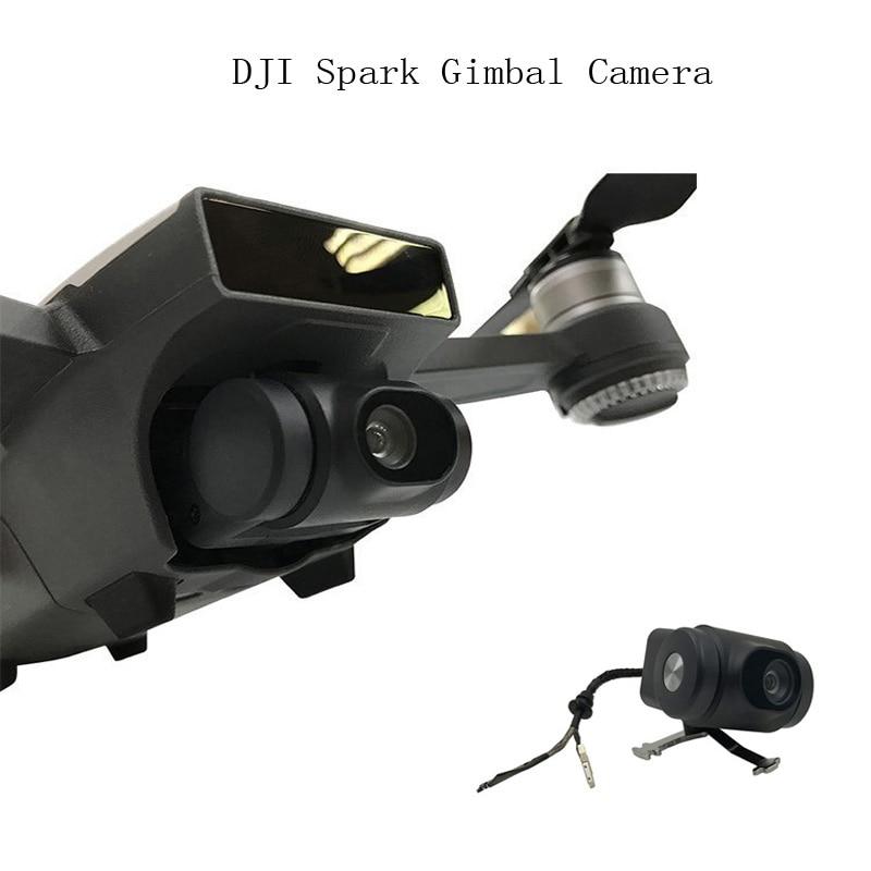 Original DJI Spark Gimbal Camera FPV HD 1080P Camera for Spark Drone Repair Parts Accessories masiken repair parts for dji phantom 4 pro p4p drone replacement gimbal roll yaw pitch motor repair kit accessories