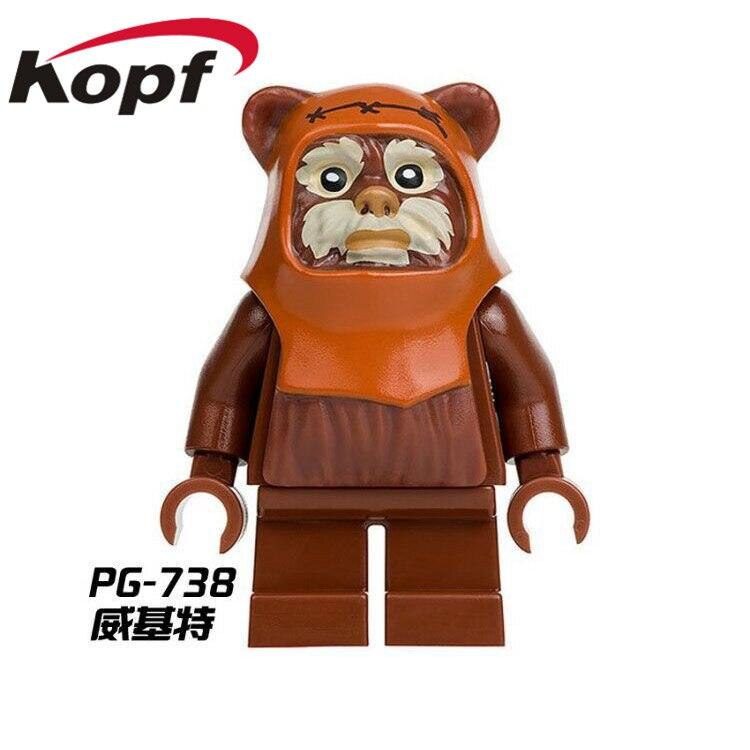 Single-Sale-Star-Wars-Ewok-Village-Tan-Tokkat-Wicket-Logray-10236-Battle-of-Endor-8038-Building-Blocks-Toys-for-children-PG8067-1