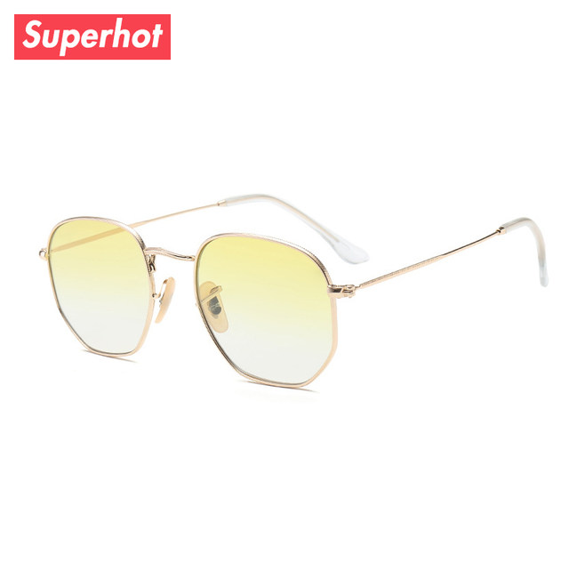 Tienda Online Superhot Eyewear-ronda hexagonal Gafas de sol metal ...