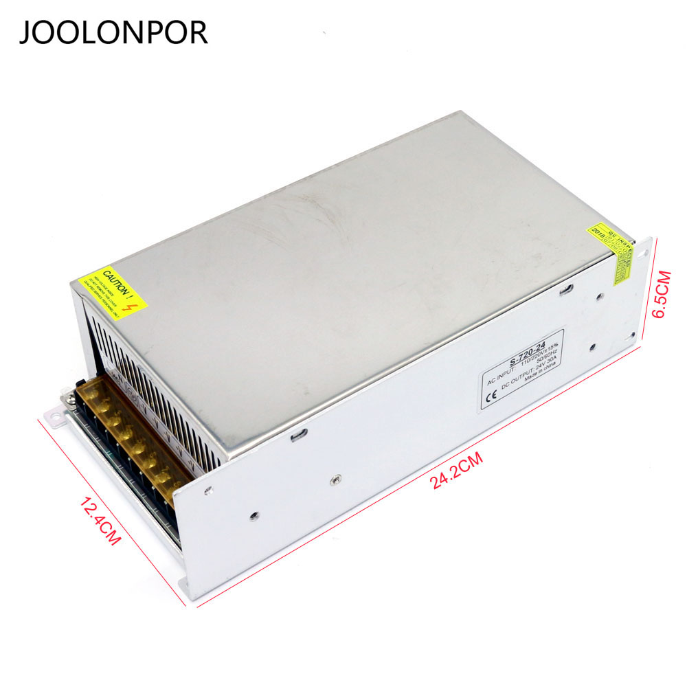 Transformer Power Supply Switch Adapter AC 110V/220V to DC 24V 30A 720W Switich High Power for LightingTransformer Power Supply Switch Adapter AC 110V/220V to DC 24V 30A 720W Switich High Power for Lighting