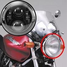 7 inch Round LED Motorcycle Head Light 7″Led Headlight Lamp with Angle Eye For Honda CB400 CB500 CB1300