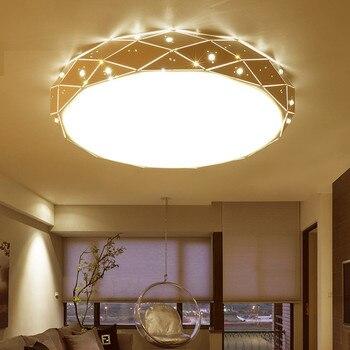 Einfache Moderne Runde Decke Lampe Wohnzimmer Lichter ...