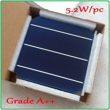A grade 5 2W 156m Mono Monocrystalline solar cell 21 3 high efficiency 100pcs enough PV