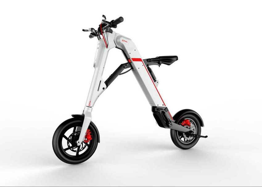 x style foldable electric scooter giroskuter