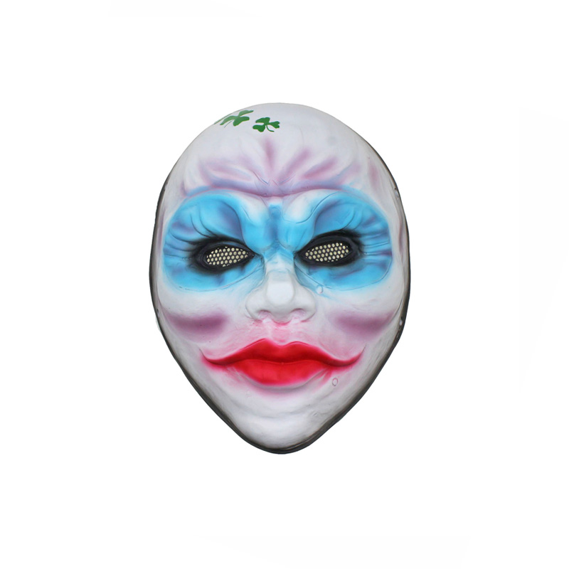 Party Mask Paintball Airsoft Wire Mesh Harvest Day Female Bandits Dust Cosplay Full Mask M100
