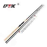FTK new 99% High Carbon Feeder Fishing Rod C.W. 15 40G 2SEC/40 90G 3SEC Carp Rod SuperHard Fishing Rod