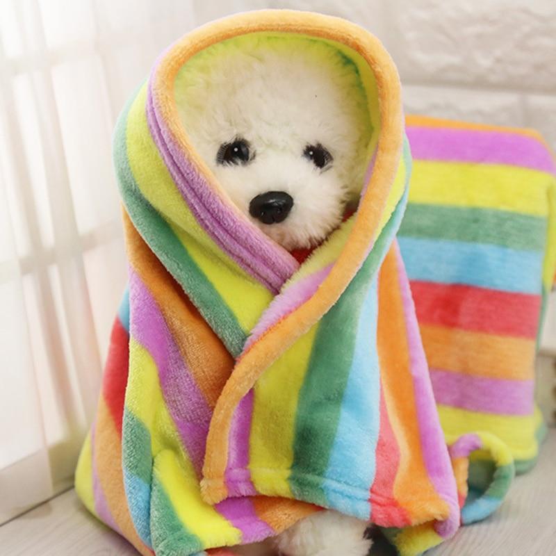 Ֆլանէլ շան վերմակ փոքր միջին շների համար փափուկ ձմեռային շների մահճակալներ Sերմ քնելու համար փափուկ ապրանքի միջոց 11cy25