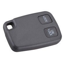 2 Buttons Car Remote Key Blank Fob Case Fit For VOLVO C70 S40 S60 S70 S80 S90 V40 V70 V90 XC70 XC90 Replacement Car Key Shell whatskey uncut blade transponder ignition car key shell case for volvo s40 s60 s70 s80 v40 v70 xc60 xc70 xc90 850 960 c70 v7 d30