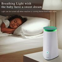 Desktop Air Purifier Low Noise Aromatherapy With Breathing Light Intelligent Essential Oil Diffuser Aroma Air Humidifier USA