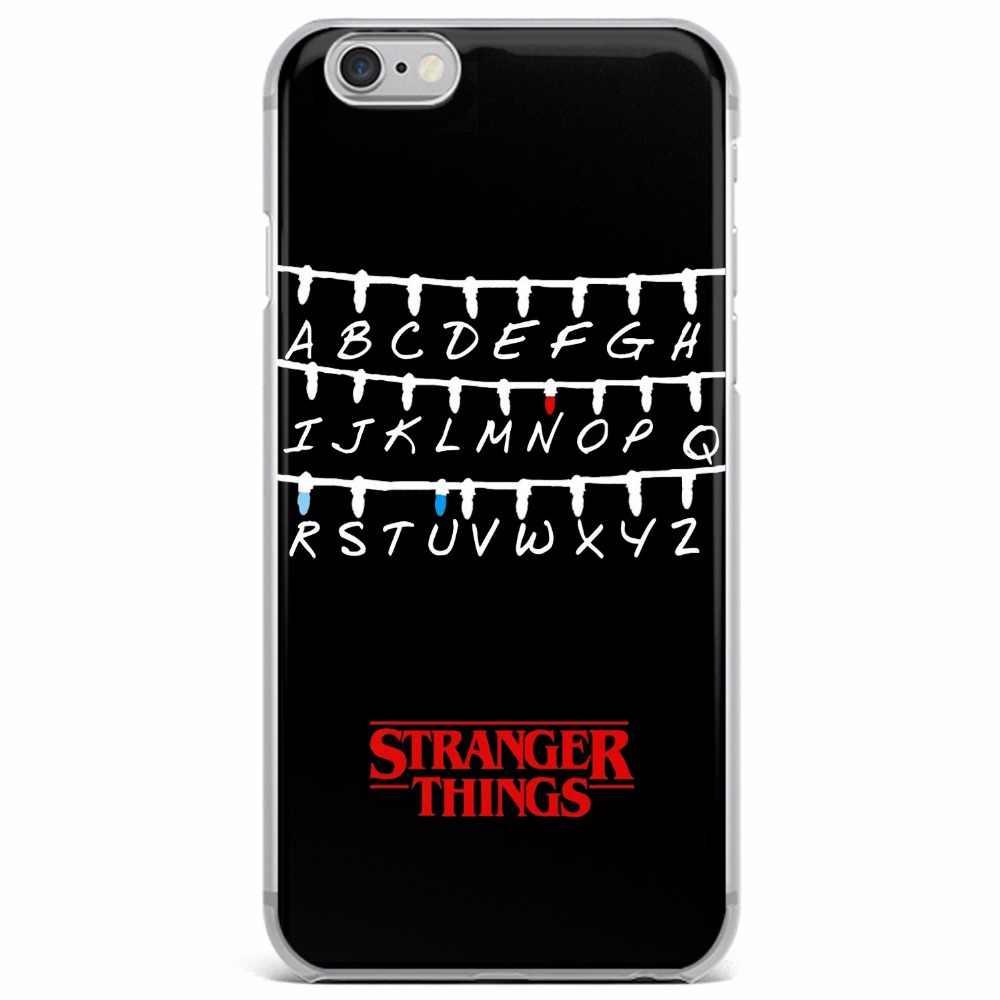 Fremden Dinge Weihnachtsbeleuchtung Fall Für iPhone 6 6 S Plus 5 5 S SE 7 7 Plus 8 8 Plus X Weiche silikon Telefon abdeckung
