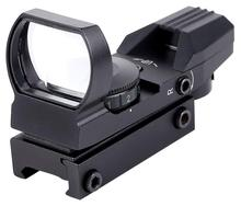 11/20 мм оптический прицел на планку Охота оптика голографическая глушитель Reflex 4 сетка тактический сферы Коллиматорный прицел