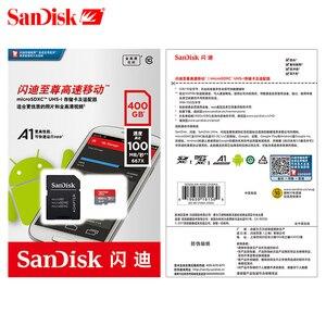 Image 5 - Tarjeta de memoria SanDisk A1, tarjeta micro SD, tarjeta tf Clase 10 SDXC Ultra SDHC 400GB 100 MB/S, UHS I, tarjeta micro sd