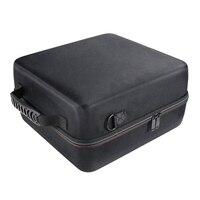 Estojo de transporte duro para oculus rift s pc-powered vr gaming headset caixa de armazenamento de proteção de viagem (preto + cinza)