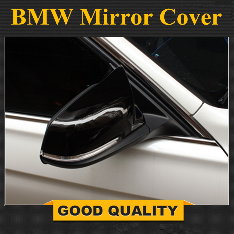 1 Pair Car Auto Rearview Mirror Cover Cap for BMW 220i 328i 420i F20 F21 F22 F30 F32 F33 F36 X1 E84 Mirror Housing Cover
