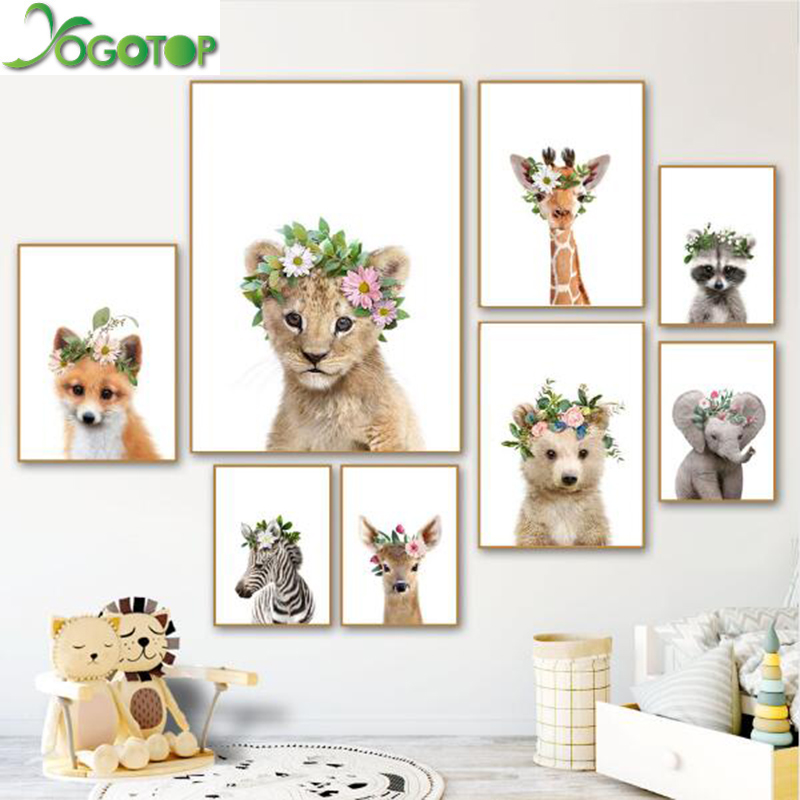 Arts,crafts & Sewing Home & Garden Straightforward Yogotop Baby Elephant Deer Zebra Fox Raccoon Wall Art Nordic Diy Diamond Painting 5d Full Mosaic Embroidery Kids Decor Yy714 Fast Color