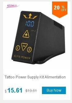Dual Alimentação Fuente de Poder Tatuaje Tatouage
