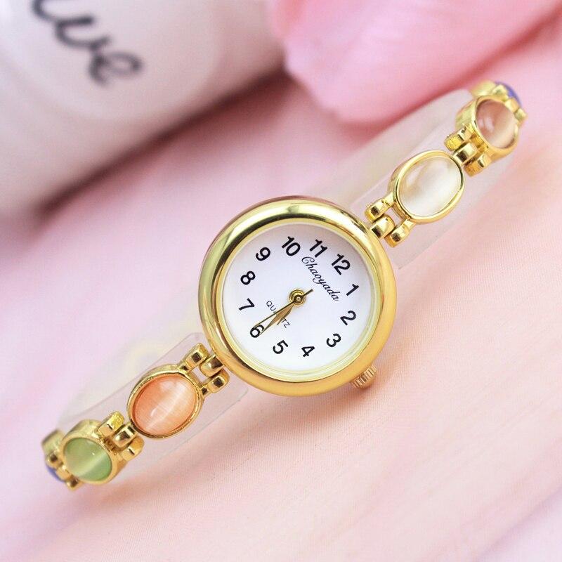 2018 Luxury Brand Gold Bracelet Watches Women Ladies Fashion Jewelry Dress Quartz Wrist watch Relogio Feminino Full digital