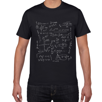 Physics math chemistry T-shirts Men Creative Casual Tshirt men funny Tee shirt Cotton Tops The Big Bang Theory Geek men clothes