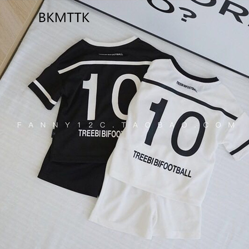Baby clothes, summer clothes, breathable boys sports suits, boomers jackets, two-piece short-sleeved shorts