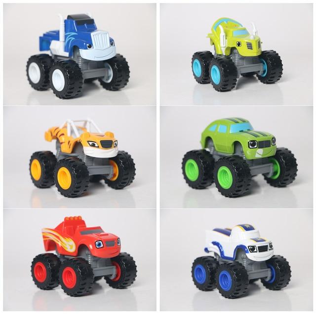 Single Sale Blaze Monster Cars Children Best Car Toys Blaze Pickle