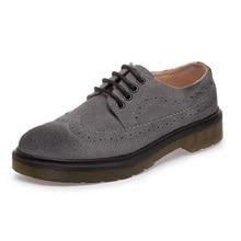 Плюс Размер 34-44 Любителей Обувь Женская Квартиры Старинные Туфли На Платформе Оксфорд зашнуровать Акцентом Обувь Для Женщин Удобные обувь