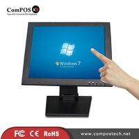 15 인치 LCD 터치 스크린 LCD POS 디스플레이 모니터 판매 디스플레