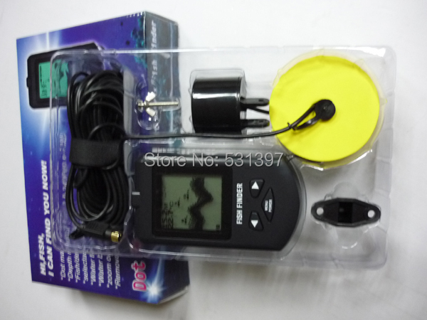 TL58 Russian system fishing finder russian system wireless fishing finder with 2 8lcd