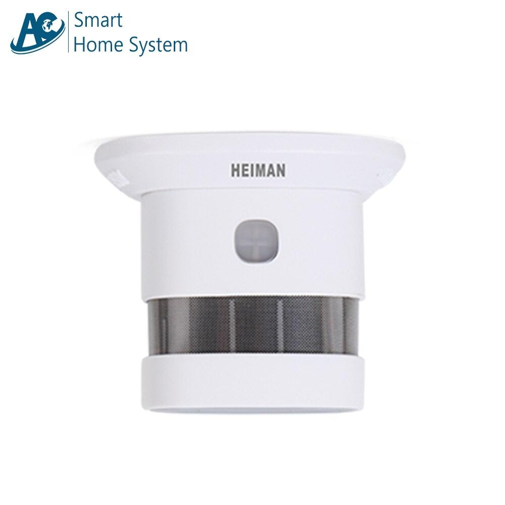 Smoke Detection System EN14604/CE/RoHS Certified Zigbee Network Fire Alert Smart Smoke Alarm Detector/Sensor