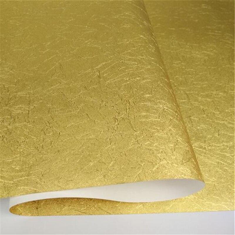 Beibehang papier peint feuille d'or haut de gamme or argent papier peint salon chambre hôtel dessin KTV plafond fond papier peint - 5
