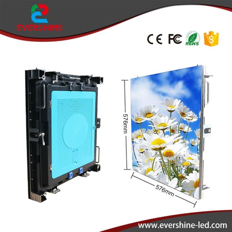 цены на HD Full Color Indoor Rental P3 LED Display 576*576mm LED Video Wall в интернет-магазинах