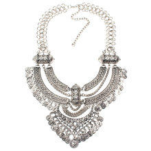 2016 модные Бохо ожерелье Кристалл инкрустированные Вырезка