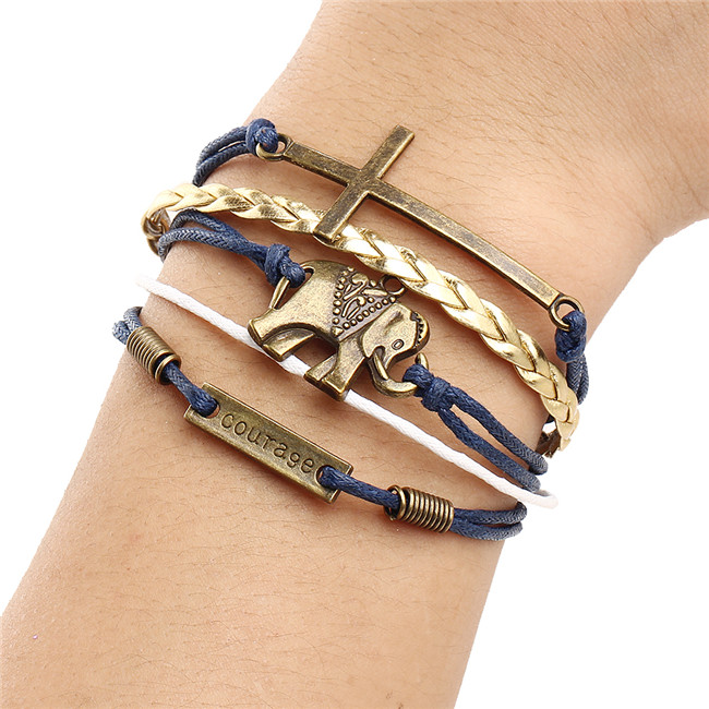 2016-New-Vintage-Multilayer-leather-Cross-Bracelet-Tower-Heart-Owl-Infinity-Bracelets-Jewelry-Men-Charm-Women