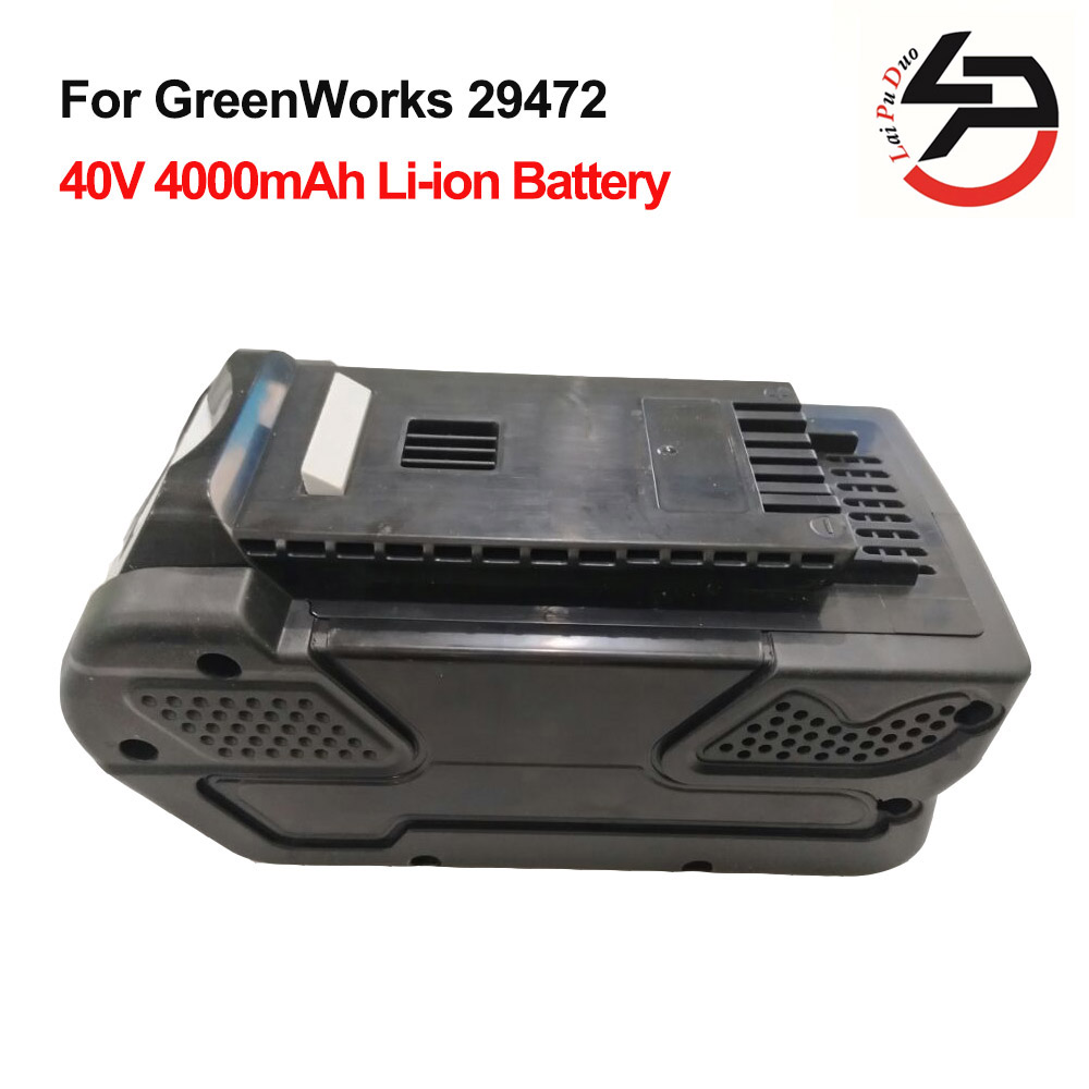 GreenWorks 29472 Replacement Power Tool Battery Li-Ion 40V 4000mAh Rechargeable G-MAX Battery spare 2600mah 36v lithium ion rechargeable power tool battery replacement for bosch d 70771 bat810 2 607 336 107 bat836 bat840