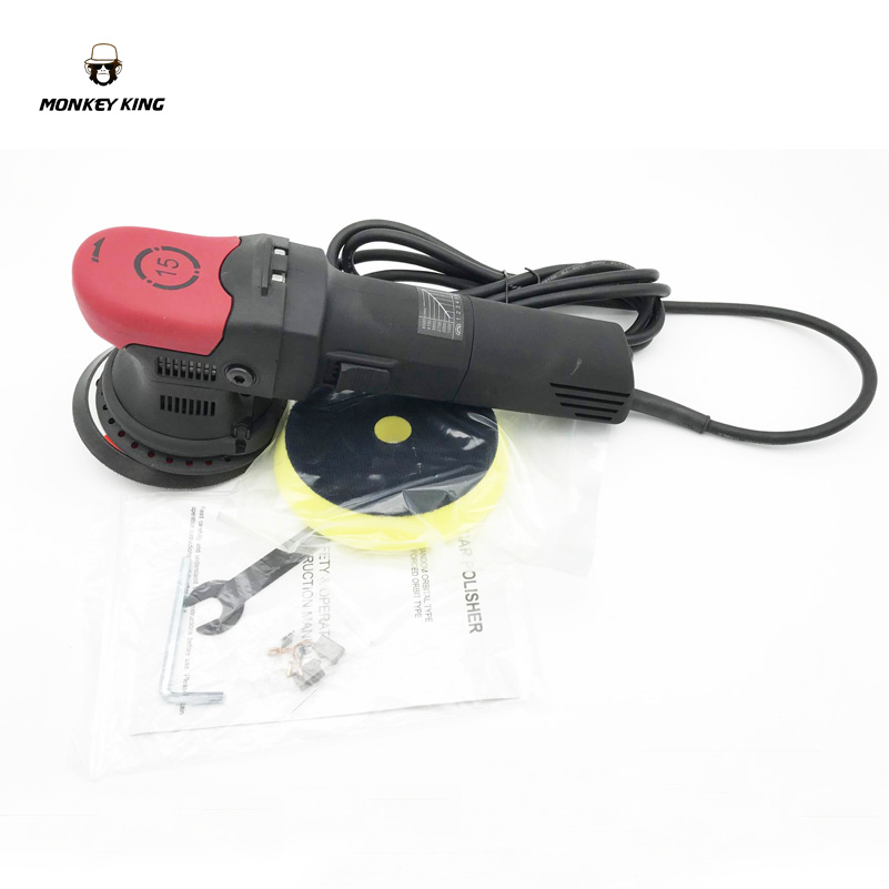 US $159 99 |15mm Long Throw 710w Variable Speed Random Orbital Polisher Car  Buffer Same Good As Rupes BigFoot c/w 125mm Backing Plate-in Polishers