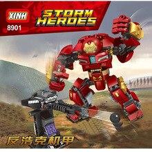 Super Heroes Hulkbuster Smash Avengers 3 Edad de Ultron Big Ironman Hombre de Hierro bloques de construccion ChildrenToys Compat цены