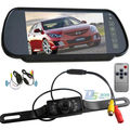 7 IR Waterproof Wireless Reversing Camera + Car Rear View 7'' LCD Screen Monitor