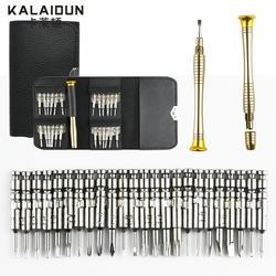 Kalaidun Отвёртки набор 25 в 1 Torx Отвёртки Ремонт набор инструментов для iphone телефона Планшеты ПК по всему миру хранения ручной инструмент