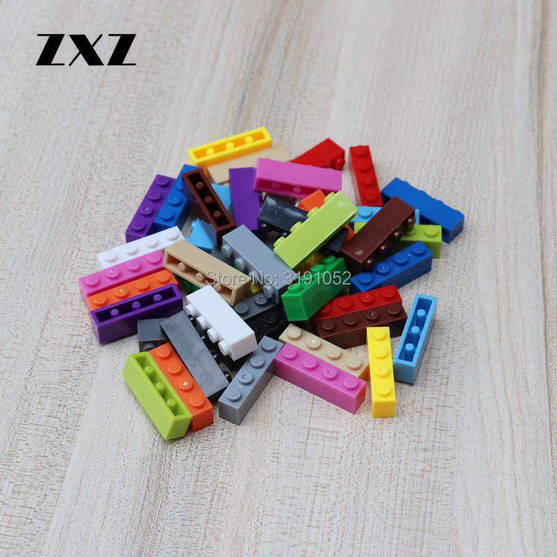 MOC Children Educational Toys Blocks Plastic Building Bricks 1x4 Compatible With Legoes 3010 Parts Toys for Girls Boys 1000pcs-in Blocks from Toys & Hobbies    1