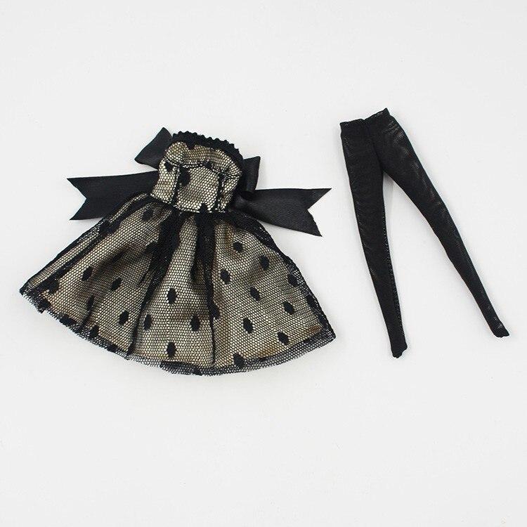 Neo Blythe Doll Black Dress 1