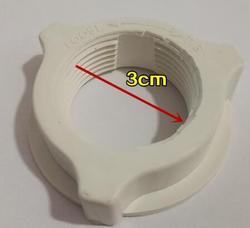 Ventilateur électrique pièces fixation ventilateur lame plastique vis diamètre 3 cm 4 cm